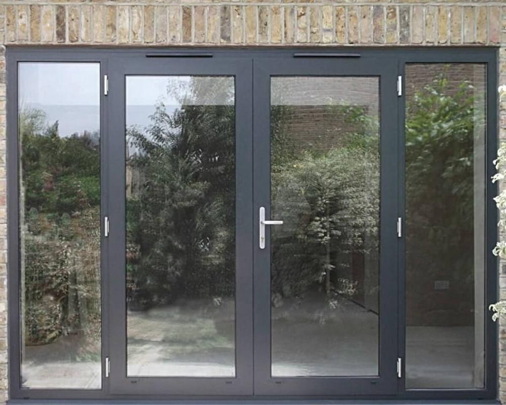 Теплое алюминиевое окно 3