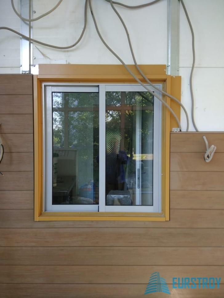 Алюминиевое окно 2