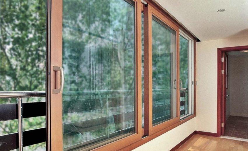 Алюминиевое раздвижное окно