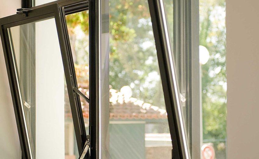 Холодное алюминиевое окно