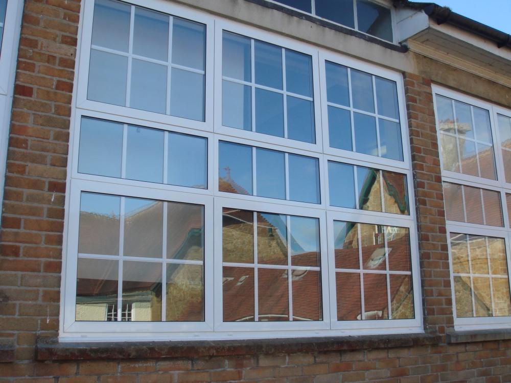 Холодное алюминиевое окно 2